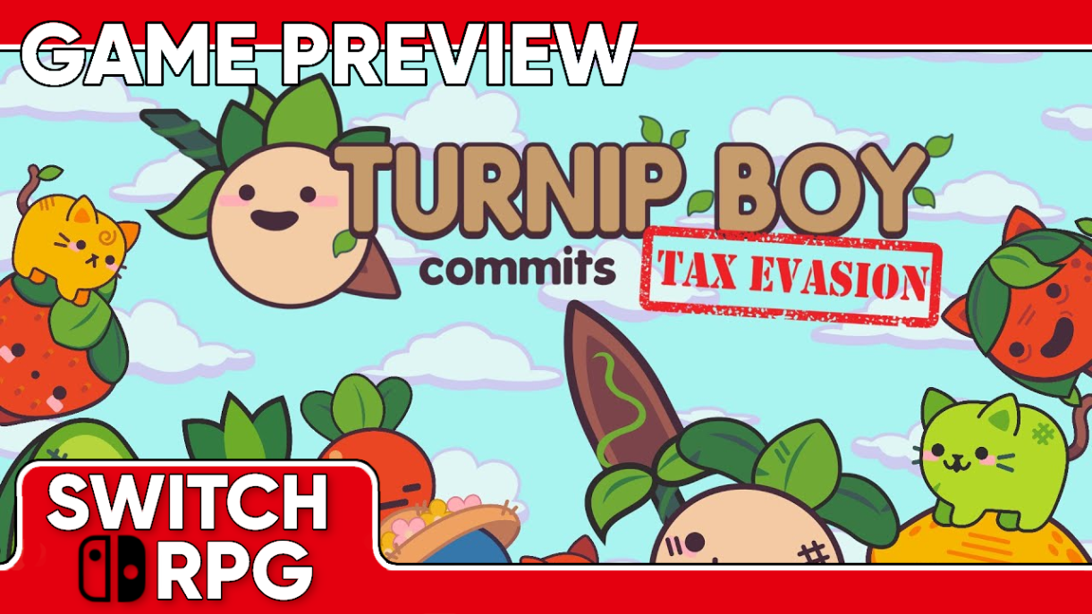 Turnip Boy Commits Tax Evasion Preview (Switch)