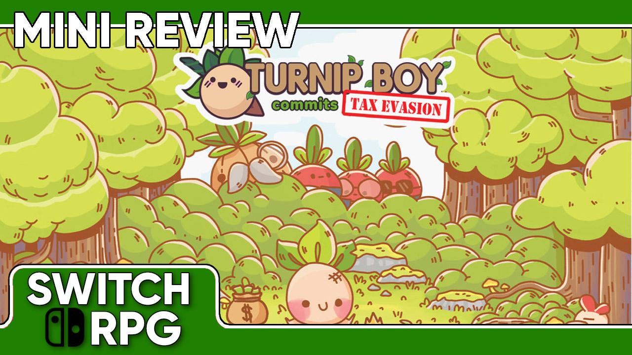 Turnip Boy Commits Tax Evasion Mini Review (Switch)