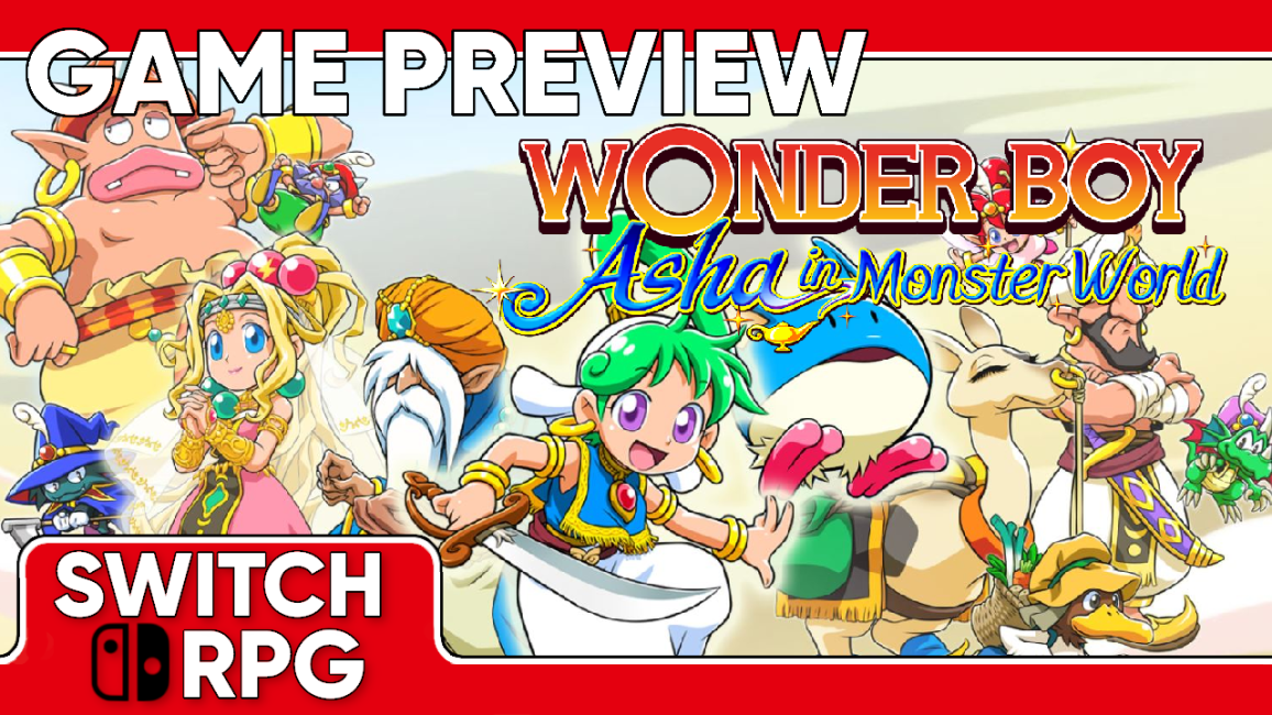 Wonder Boy Asha in Monster World Preview (Switch)