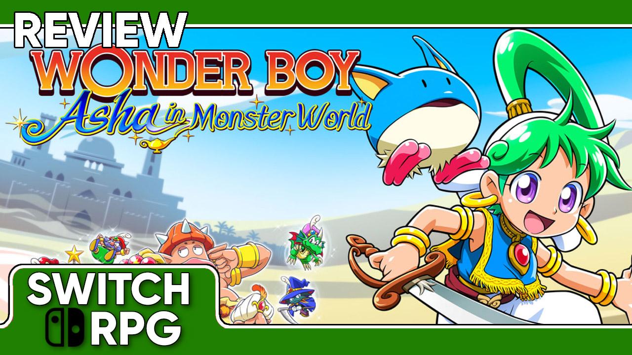 Wonder Boy Asha in Monster World Review (Switch)