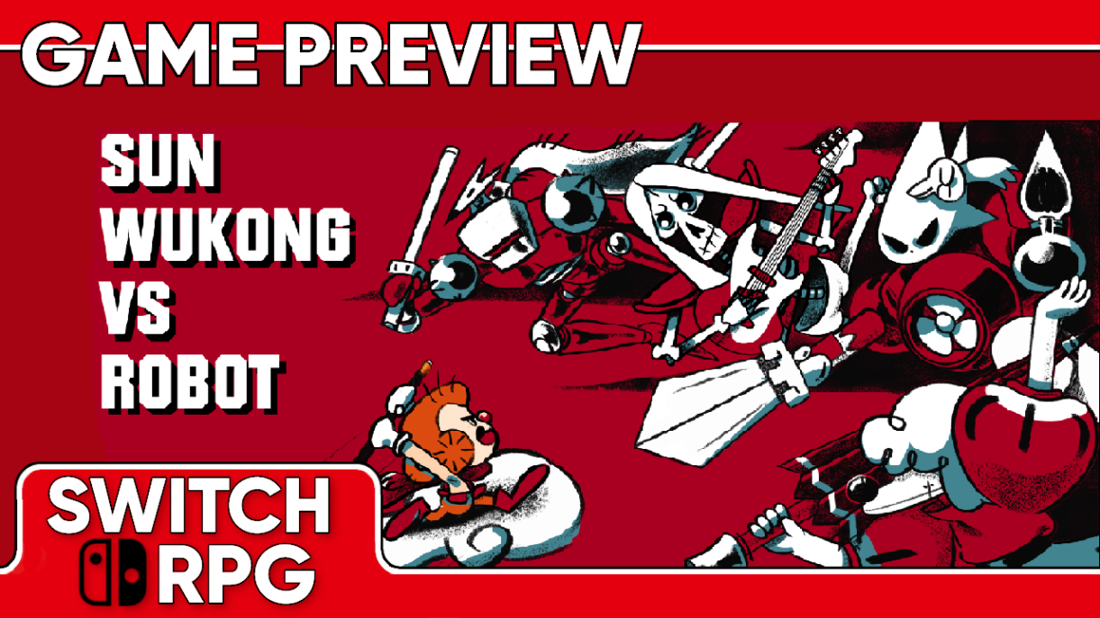 Sun Wukong VS Robot Preview (Switch)
