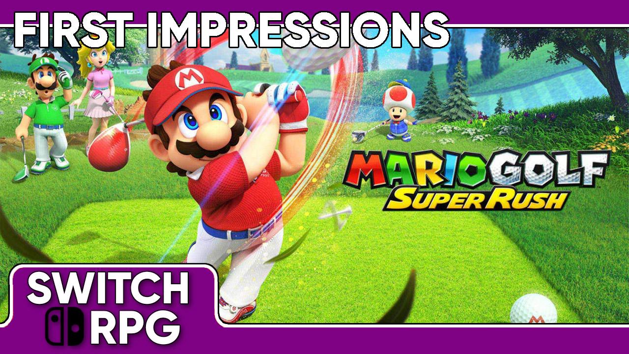 Libra: Mario Golf: Super Rush