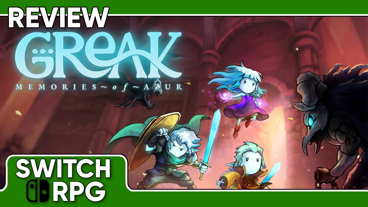 Greak: Memories of Azur Review (Switch)