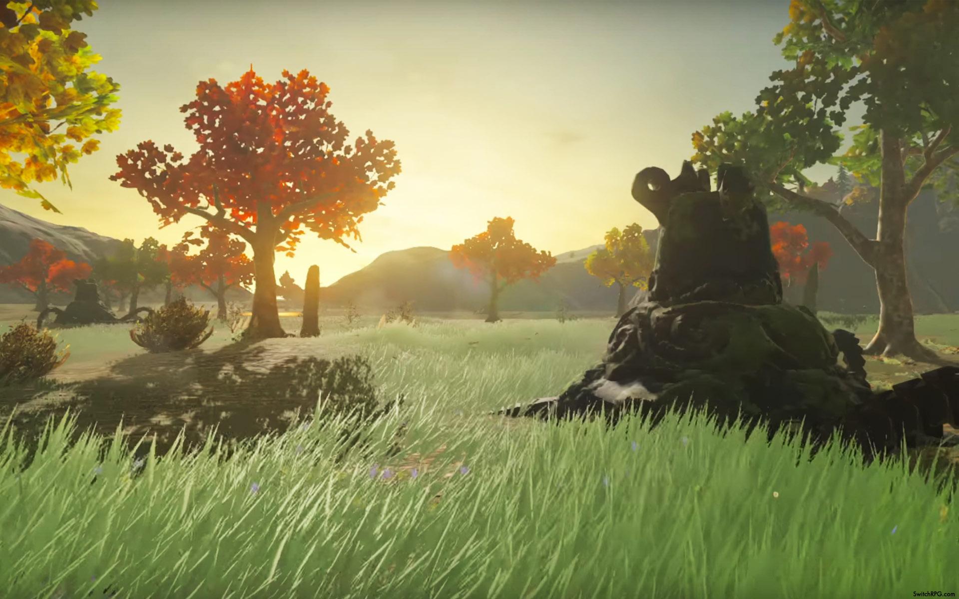 Zelda: Breath of the Wild Scenic Desktop Wallpaper ...