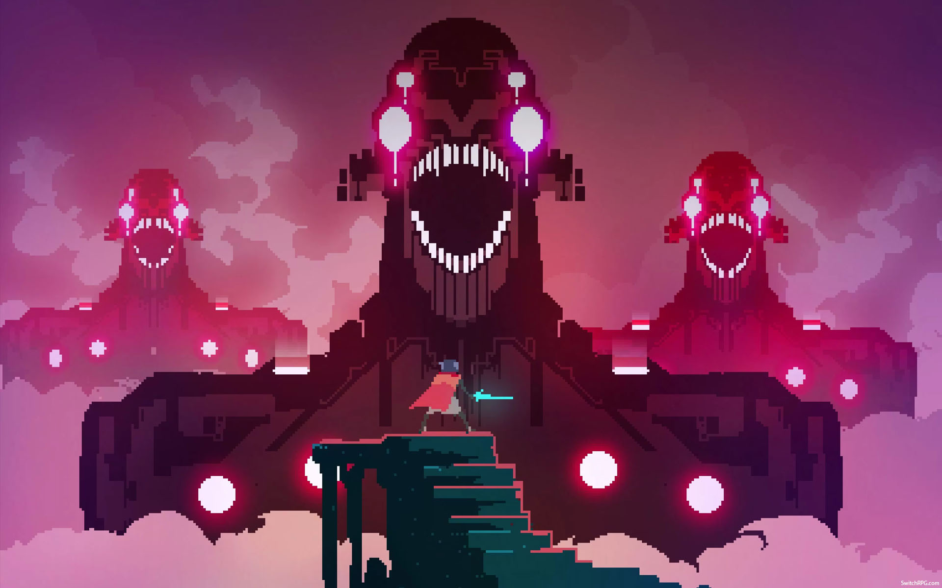 Hyper Light Drifter Desktop Wallpaper Switch Rpg