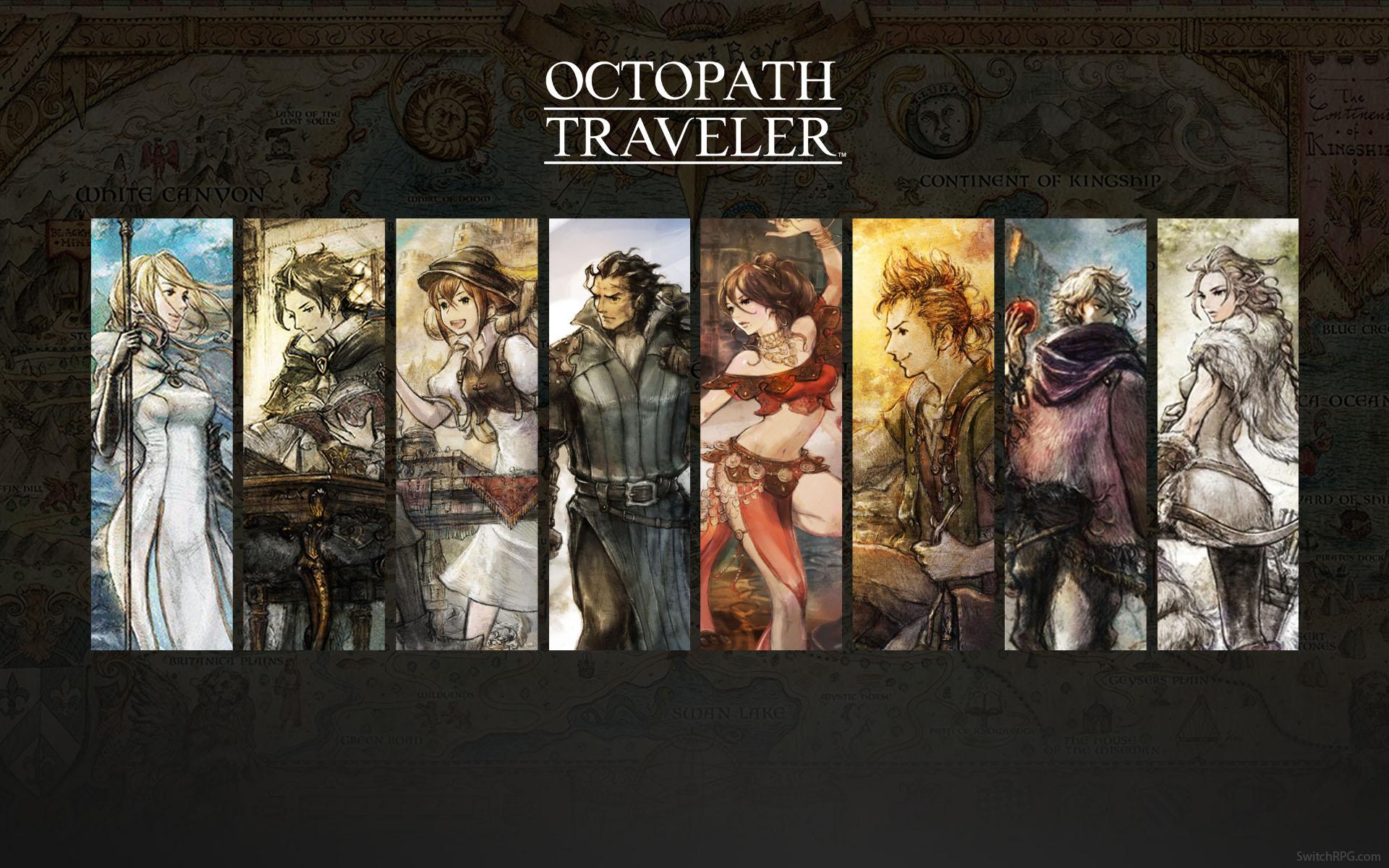 Resultado de imagen de octopath traveler