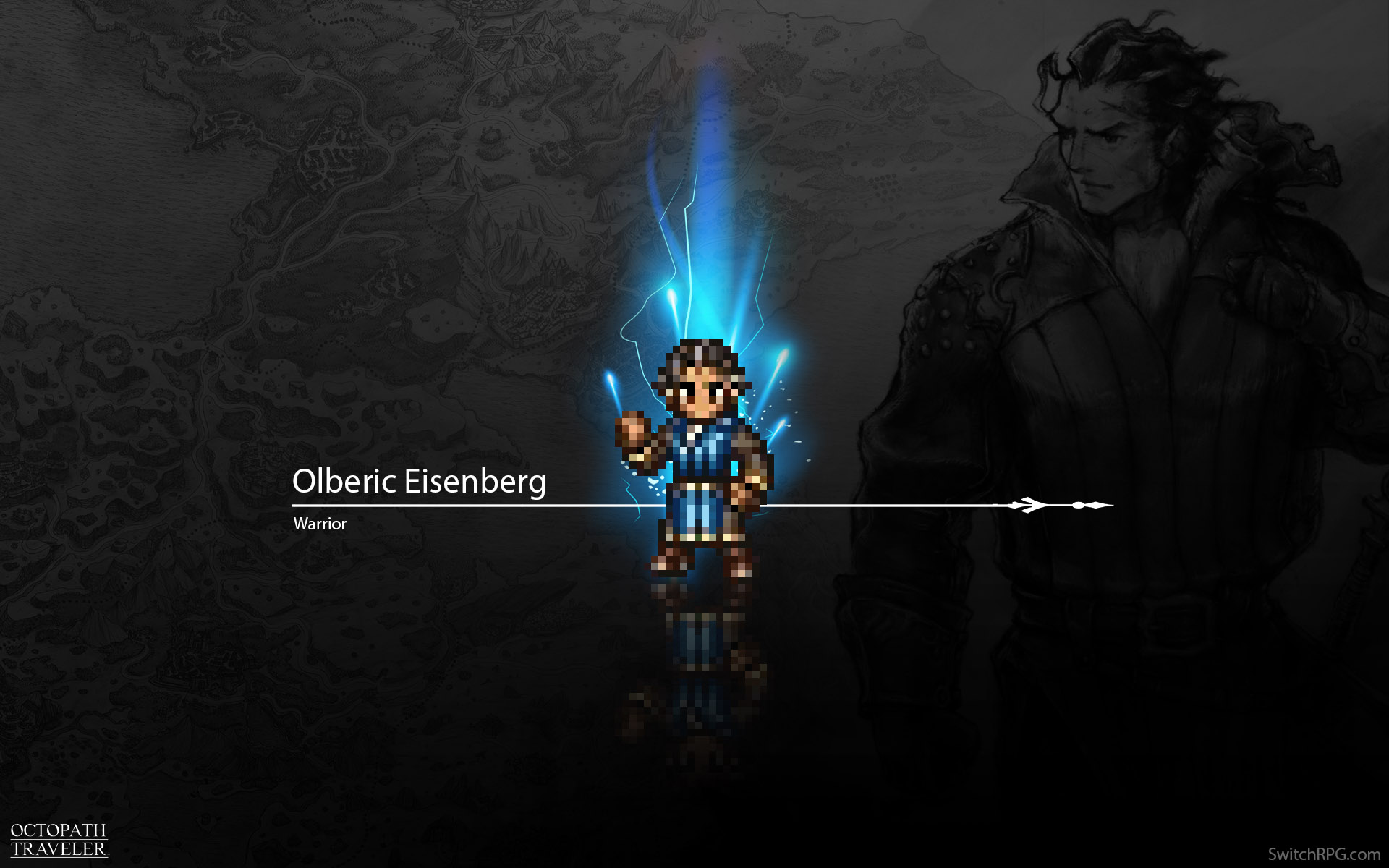 Octopath Traveler Character Wallpaper | Switch RPG