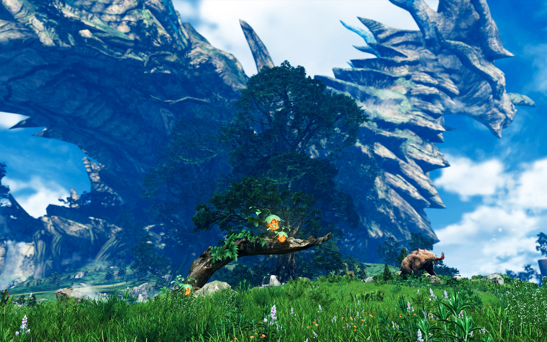 Xenoblade Chronicles 2 Scenic Desktop Wallpaper Collection